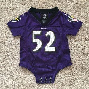 Baltimore Ravens Ray Lewis baby jersey 3/6m